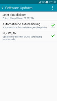 Samsung Galaxy Note 4 - Software - Installieren von Software-Updates - Schritt 7