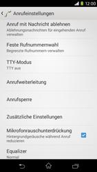 Sony Xperia M2 - Anrufe - Rufumleitungen setzen und löschen - Schritt 5