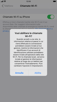 Apple iPhone 6s Plus - iOS 13 - WiFi - Attivare WiFi Calling - Fase 7