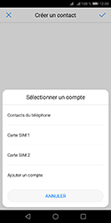 Huawei Y5 (2018) - Contact, Appels, SMS/MMS - Ajouter un contact - Étape 6