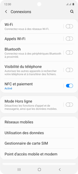 Samsung Galaxy Note 10 Lite - Internet et connexion - Activer la 4G - Étape 5