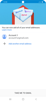 Samsung Galaxy S20 Plus 5G - E-mail - 032a. Email wizard - Gmail - Step 13