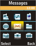 Samsung J700 - E-mail - Manual configuration - Step 3