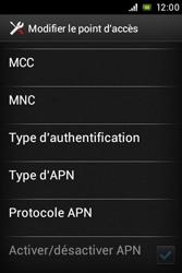 Sony C1505 Xperia E - MMS - Configuration manuelle - Étape 14