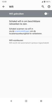 Sony Xperia XZ3 - Wi-Fi - Verbinding maken met Wi-Fi - Stap 6