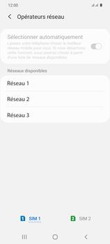 Samsung Galaxy S20 5G - Réseau - Sélection manuelle du réseau - Étape 11