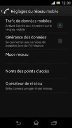 Sony C1905 Xperia M - Internet - activer ou désactiver - Étape 6