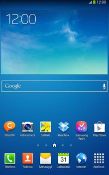 Samsung Galaxy Tab 3 8-0 LTE - Risoluzione del problema - Chiamate e contatti - Fase 1