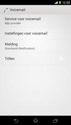 Sony Xperia M2 - voicemail - handmatig instellen - stap 6