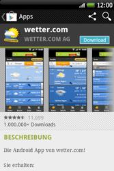 HTC Wildfire S - Apps - Herunterladen - 13 / 22