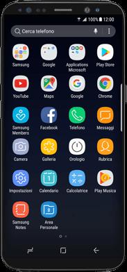 Samsung Galaxy Note 8 - WiFi - Attivare WiFi Calling - Fase 2