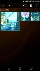 Sony Xperia E4g - Photos, vidéos, musique - Envoyer une photo via Bluetooth - Étape 11