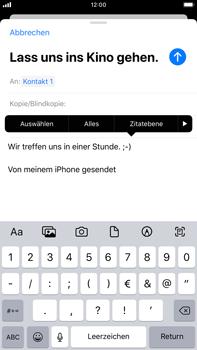 Apple iPhone 7 Plus - iOS 13 - E-Mail - E-Mail versenden - Schritt 9
