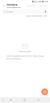 Samsung Galaxy A7 (2018) - E-mail - handmatig instellen (yahoo) - Stap 11