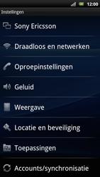 Sony Ericsson Xperia Arc S - Buitenland - Bellen, sms en internet - Stap 5
