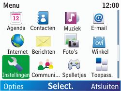 Nokia C3-00 - Buitenland - Bellen, sms en internet - Stap 3