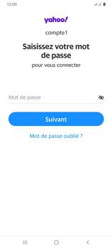 Samsung Galaxy A31 - E-mails - Ajouter ou modifier votre compte Yahoo - Étape 10