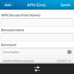 BlackBerry Q5 - Internet - Apn-Einstellungen - 8 / 22