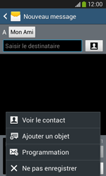 Samsung S7275 Galaxy Ace 3 - MMS - envoi d'images - Étape 9