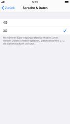 Apple iPhone 8 - iOS 14 - Netzwerk - So aktivieren Sie eine 4G-Verbindung - Schritt 6