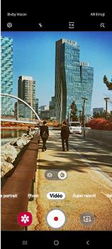 Samsung Galaxy A70 - Photos, vidéos, musique - Créer une vidéo - Étape 11