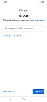 Samsung galaxy-a50-dual-sim-sm-a505fn - Applicaties - Account aanmaken - Stap 5