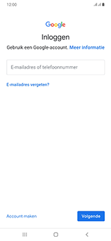 Samsung Galaxy A50 - apps - account instellen - stap 5