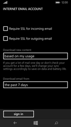 Microsoft Lumia 535 - Email - Manual configuration POP3 with SMTP verification - Step 20