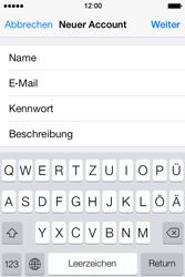 Apple iPhone 4 S - E-Mail - Konto einrichten - 9 / 29