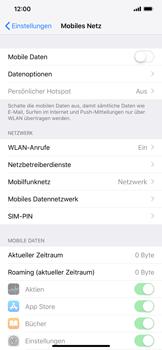 Apple iPhone XS Max - Internet - Mobile Daten ausschalten - 4 / 4