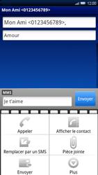 Sony Ericsson Xperia X10 - MMS - envoi d'images - Étape 9