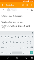 Alcatel OT-6039Y Idol 3 (4.7) - e-mail - hoe te versturen - stap 10