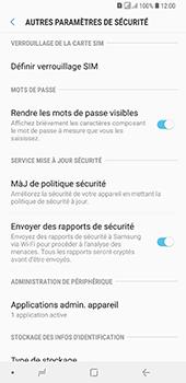Samsung Galaxy A7 2018 - Sécuriser votre mobile - Personnaliser le code PIN de votre carte SIM - Étape 6