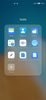 Huawei P40 - Contact, Appels, SMS/MMS - Ajouter un contact - Étape 4