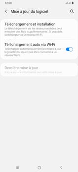 Samsung Galaxy A31 - Aller plus loin - Mettre à jour le logiciel interne de votre mobile - Étape 6