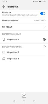 Huawei P30 - Bluetooth - Collegamento dei dispositivi - Fase 8