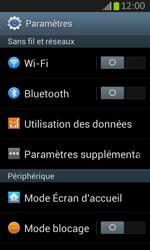 Samsung S7710 Galaxy Xcover 2 - Internet - activer ou désactiver - Étape 4