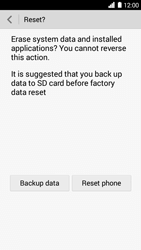 Huawei Ascend G6 - Device - Factory reset - Step 8