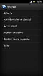 Sony Xperia U - Internet et roaming de données - Configuration manuelle - Étape 19