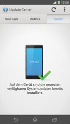 Sony Xperia Z1 - Software - Installieren von Software-Updates - Schritt 8