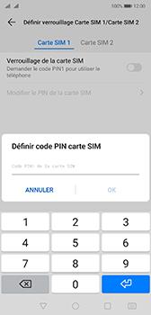 Huawei P20 - Android Pie - Prise en main - Comment activer un code SIM - Étape 9