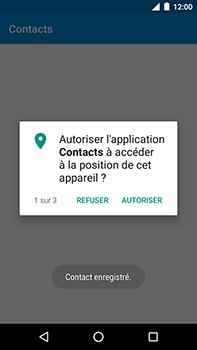 Motorola Moto E4 Plus - Contact, Appels, SMS/MMS - Ajouter un contact - Étape 9