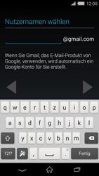 Sony Xperia Z2 - Apps - Konto anlegen und einrichten - Schritt 8