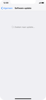 Apple iPhone X - iOS 12 - Toestel - Software update - Stap 6