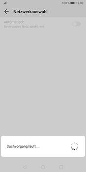 Huawei Mate 10 Pro - Android Pie - Netzwerk - Manuelle Netzwerkwahl - Schritt 8