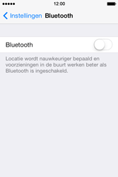 Apple iPhone 4S (iOS 8) - bluetooth - aanzetten - stap 4