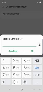 Samsung Galaxy Note 10 - voicemail - handmatig instellen - stap 11