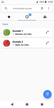 Sony Xperia XZ2 - Anrufe - Anrufe blockieren - Schritt 7