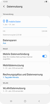 Samsung Galaxy S9 Plus - Android Pie - Internet - Manuelle Konfiguration - Schritt 7
