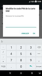 HTC Desire 650 - Sécuriser votre mobile - Personnaliser le code PIN de votre carte SIM - Étape 11